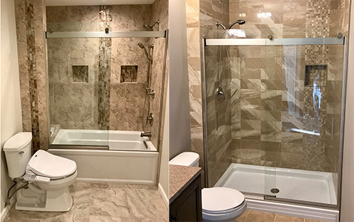 bathroom remodelling services in Middlesex