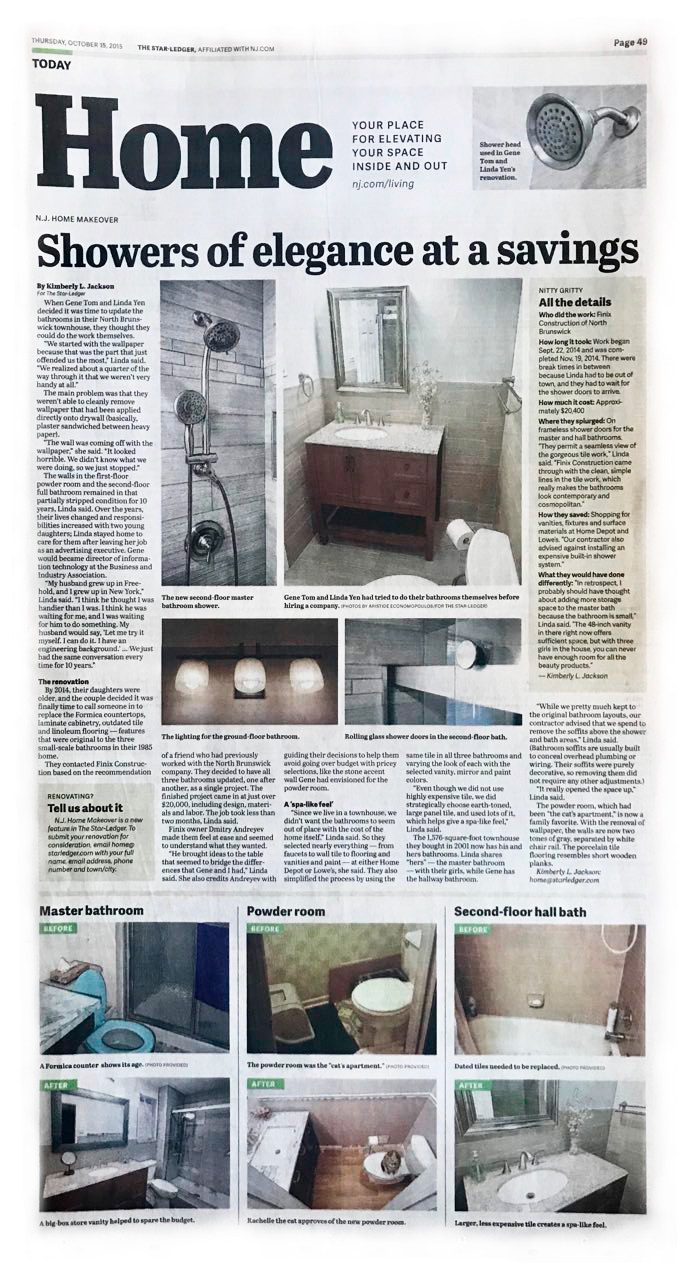 Article about Finix Construction