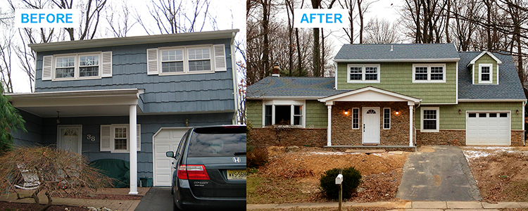 house additions services in New Jersey